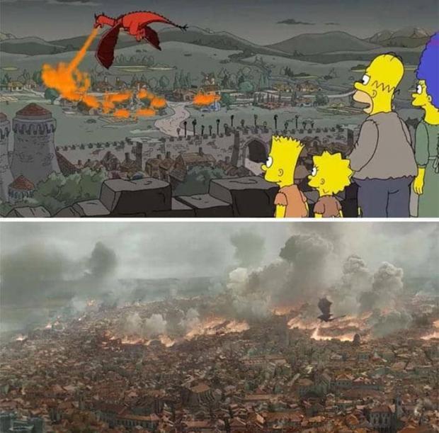 پیش بینی های عجیب در کارتون سیمپسون